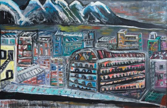 Innsbruck - 60x90 - Olio su tela