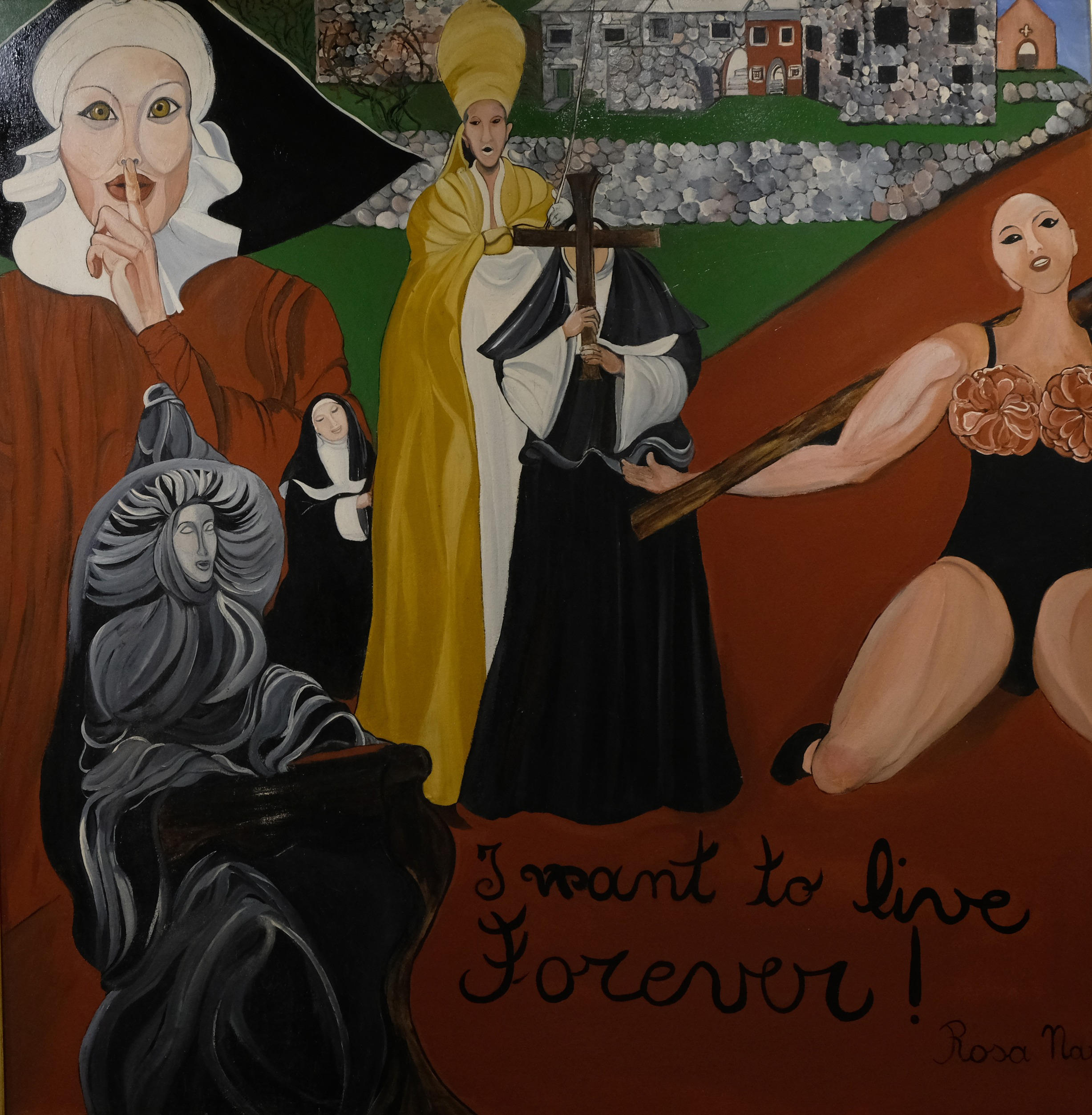 I want to live forever - 85x86