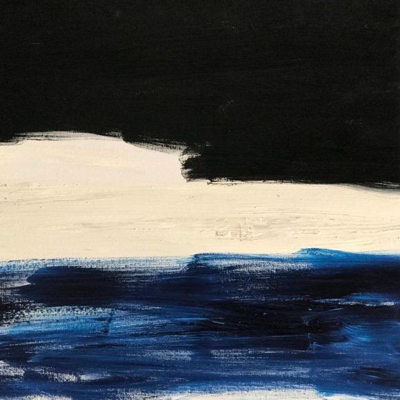 Norge - 70x50 cm - olio su tela