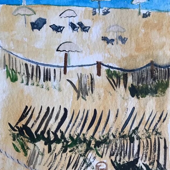 Tanga - 20x15 cm - acquerello