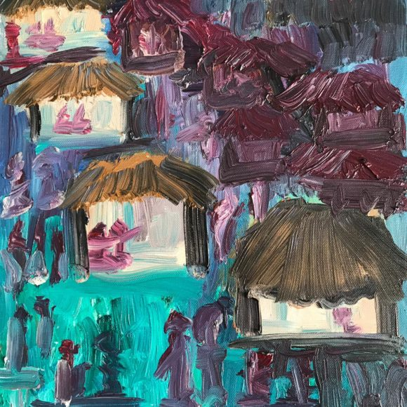 Thailandia - 40x30 cm - olio su tela