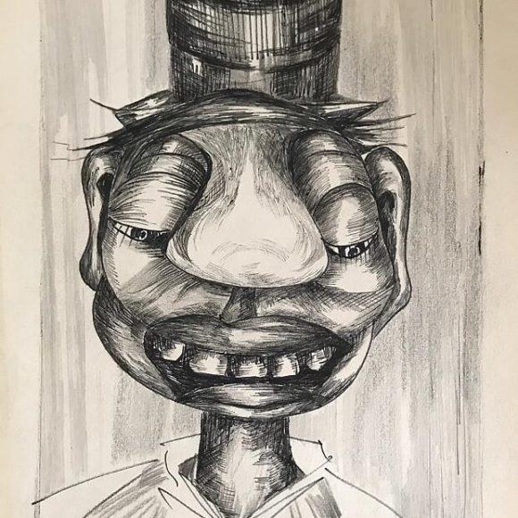 AL03 -1979 - 30x21 cm - matita su carta