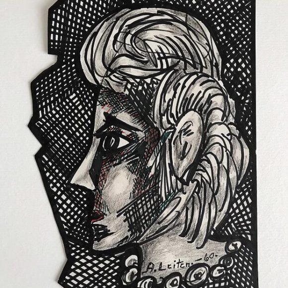 AL07 - 1960 - 29x20,50 cm - tecnica mista su carta