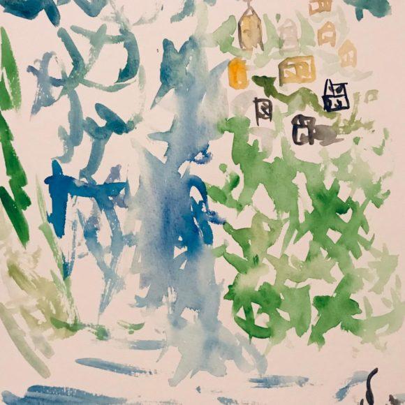 Studio 2 - 24x32 cm - acquerello