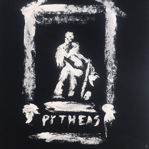 Pythéas - 70x50 - olio su carta